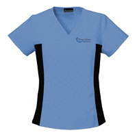 CHEROKEE V-NECK SCRUB TOP