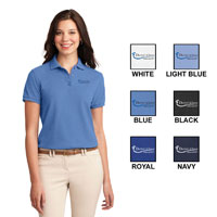 LADIES PORT AUTHORITY SILK TOUCH POLO