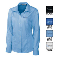 LADIES CUTTER & BUCK EASY CARE NAILSHEAD SHIRT